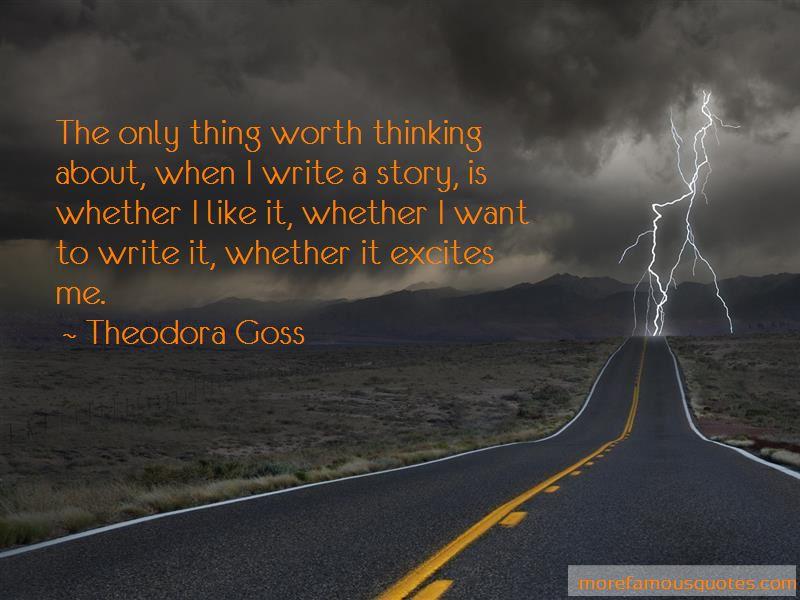 Theodora Goss Quotes Pictures 2