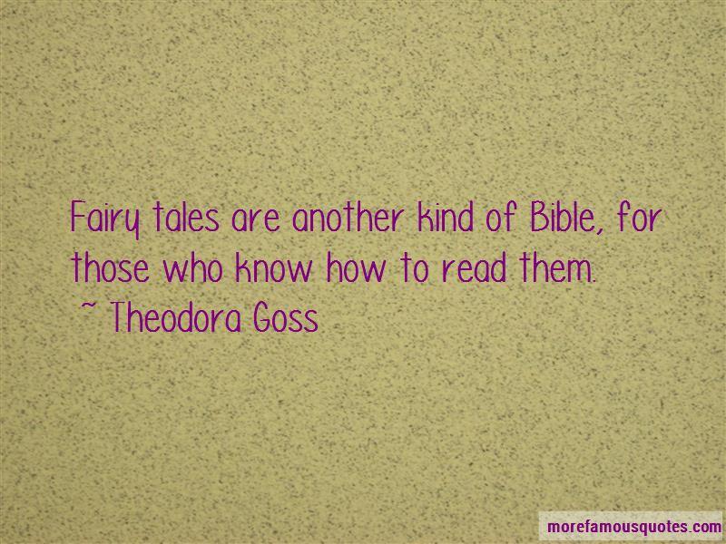 Theodora Goss Quotes Pictures 3
