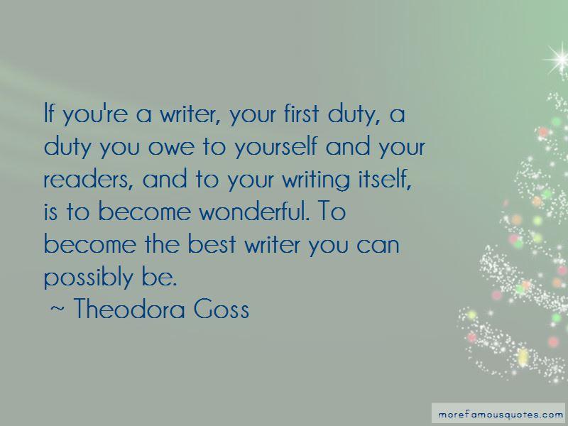 Theodora Goss Quotes