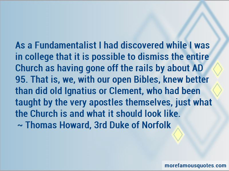 Thomas Howard, 3rd Duke Of Norfolk Quotes Pictures 2