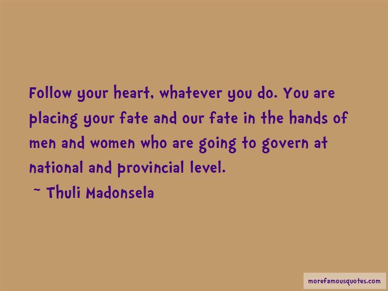 Thuli Madonsela Quotes