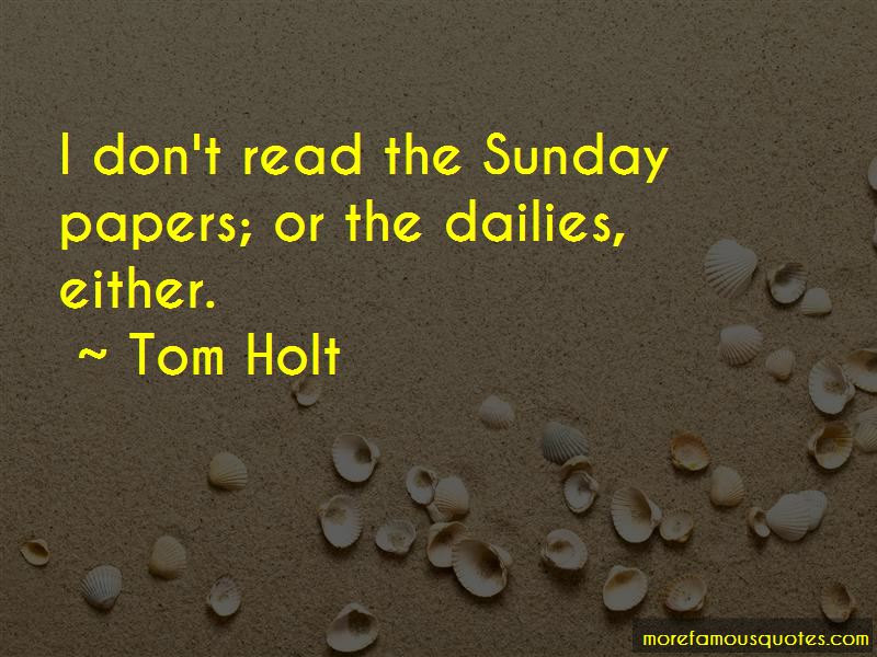 Tom Holt Quotes Pictures 4