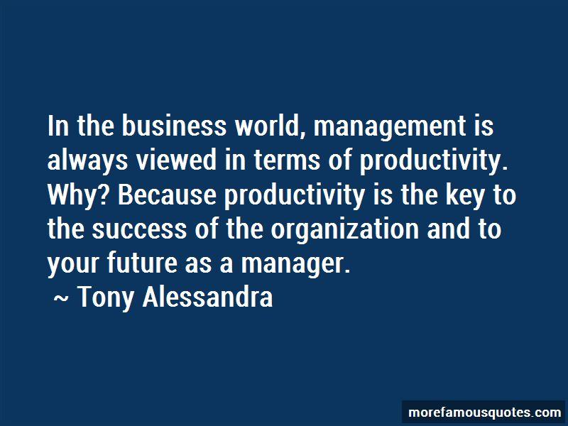 Tony Alessandra Quotes Pictures 3