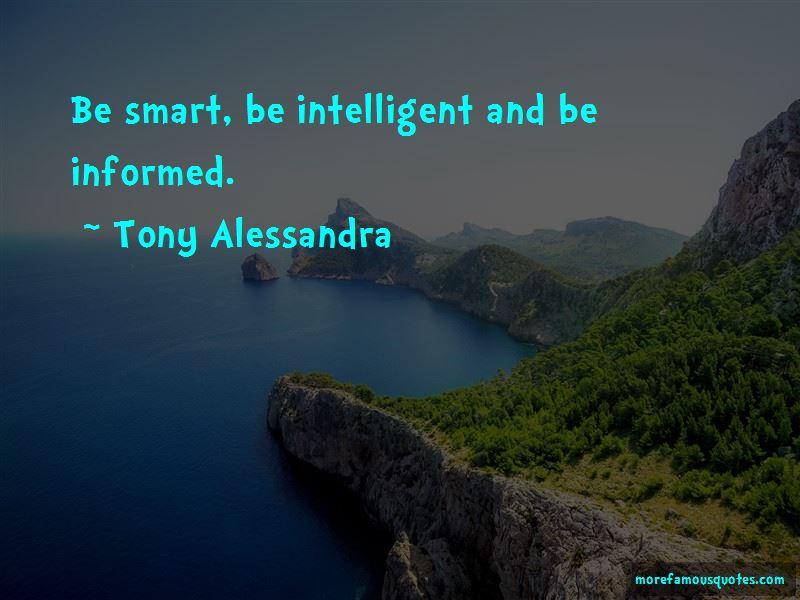 Tony Alessandra Quotes