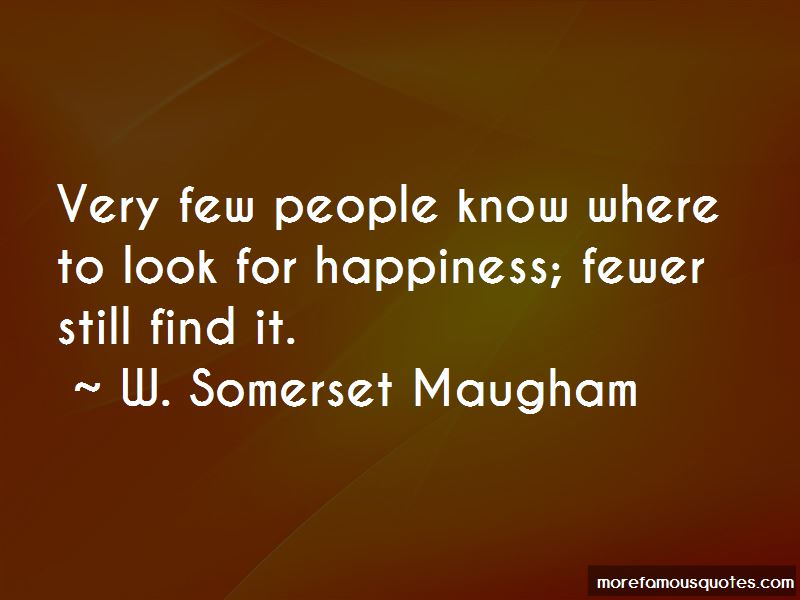W. Somerset Maugham Quotes Pictures 3