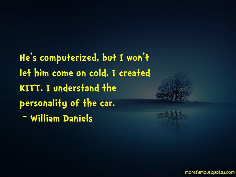 William Daniels Quotes