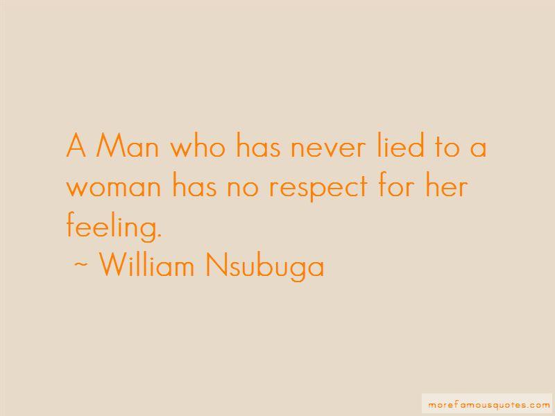 William Nsubuga Quotes