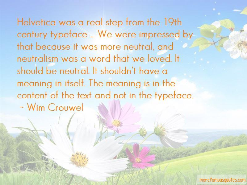 Wim Crouwel Quotes