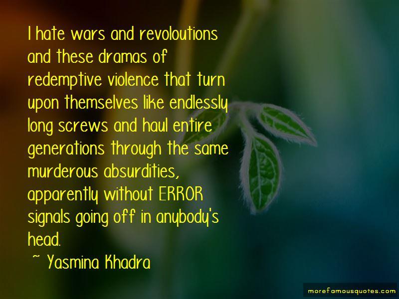 Yasmina Khadra Quotes Pictures 3