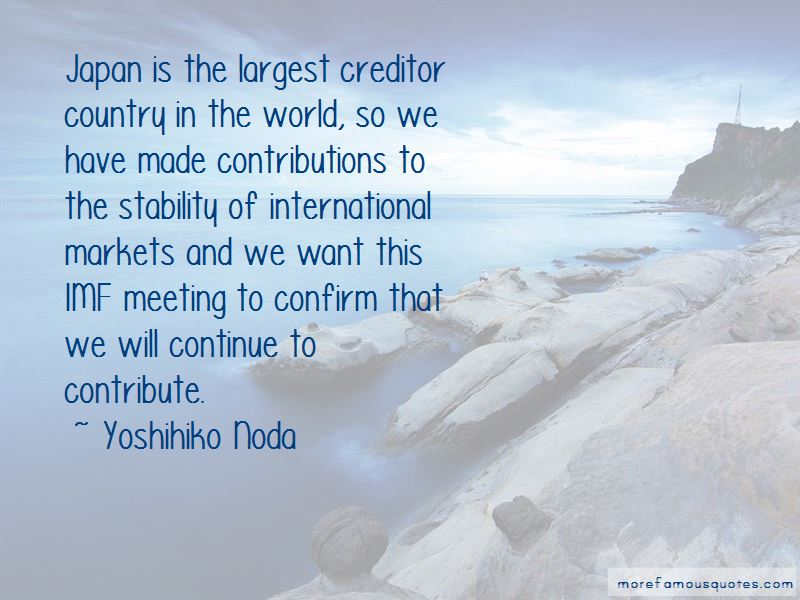 Yoshihiko Noda Quotes Pictures 2