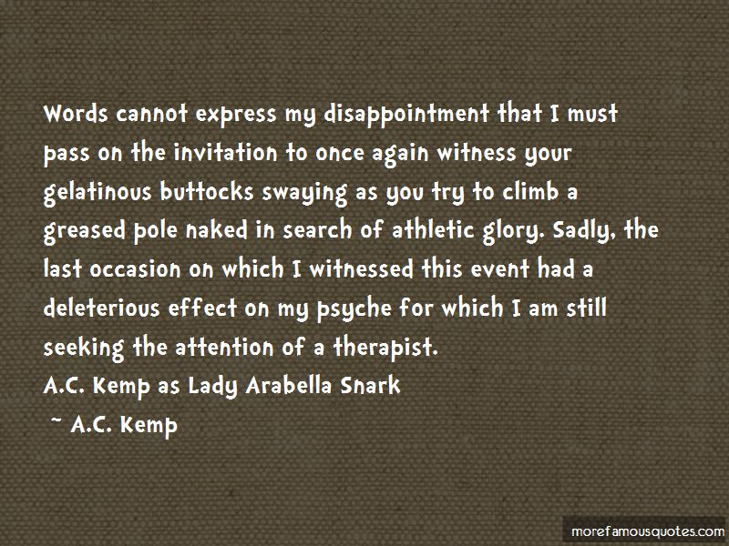 A.C. Kemp Quotes Pictures 4