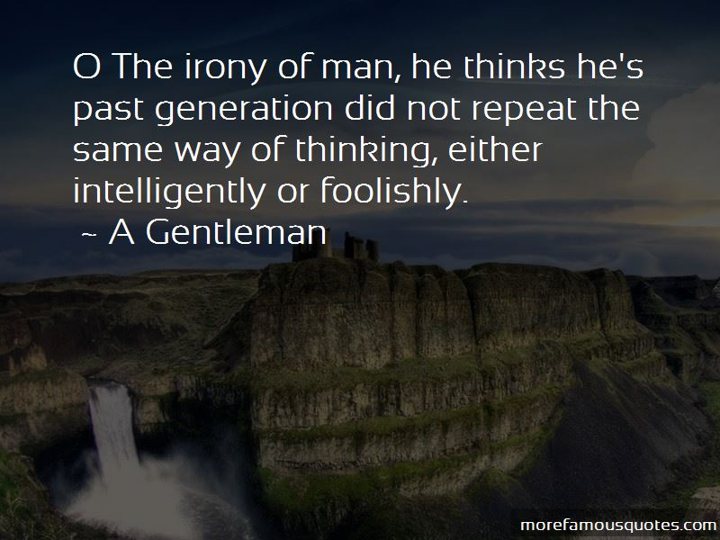 A Gentleman Quotes