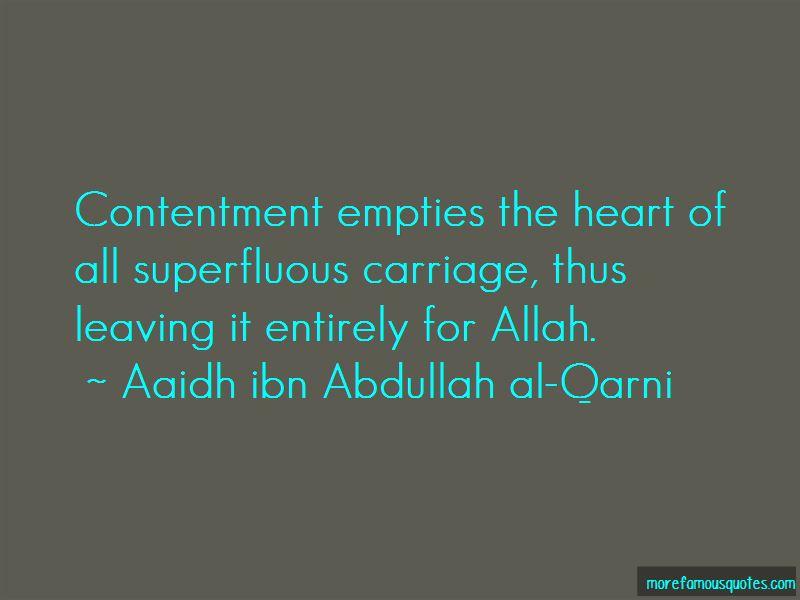 Aaidh Ibn Abdullah Al-Qarni Quotes Pictures 2