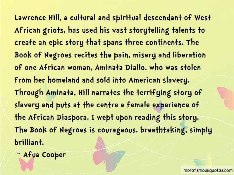 Afua Cooper Quotes