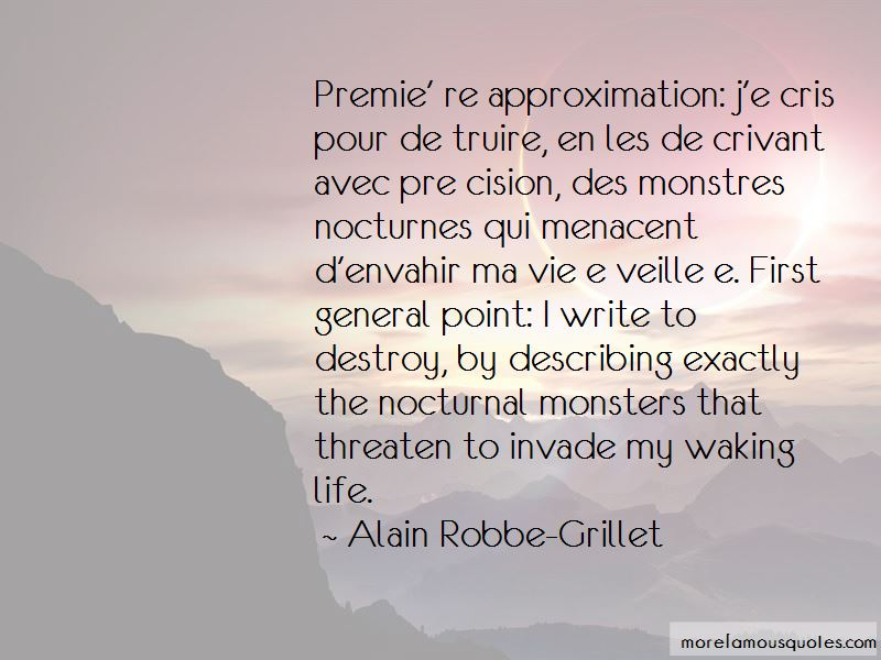 Alain Robbe-Grillet Quotes Pictures 2