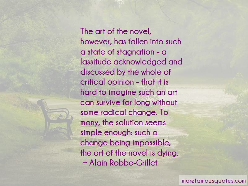 Alain Robbe-Grillet Quotes Pictures 3
