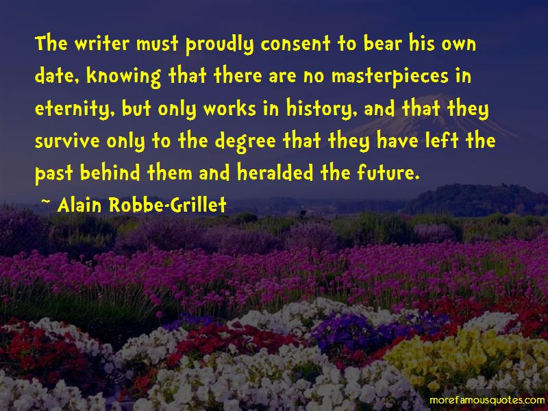 Alain Robbe-Grillet Quotes Pictures 4