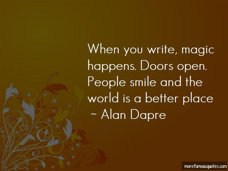 Alan Dapre Quotes Pictures 2