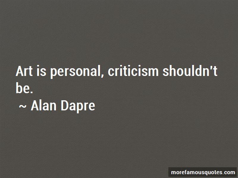 Alan Dapre Quotes Pictures 3