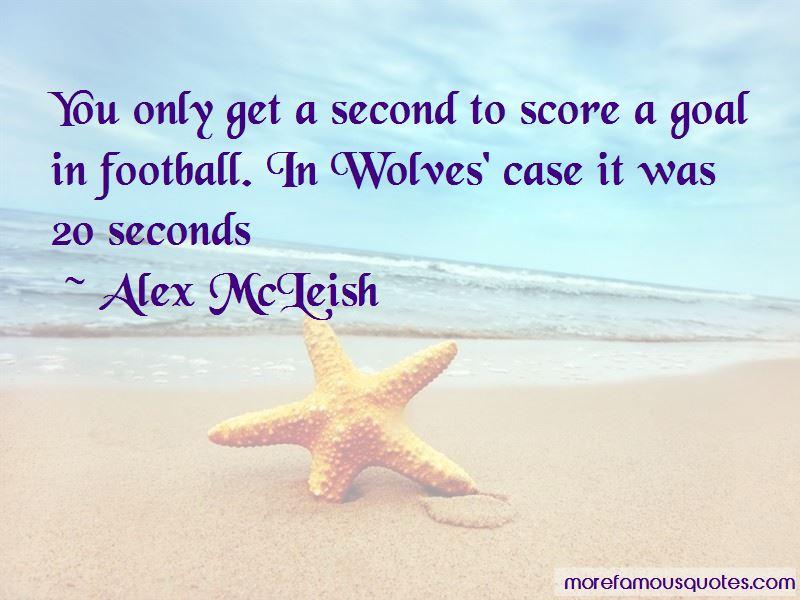 Alex McLeish Quotes Pictures 2