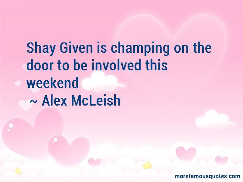 Alex McLeish Quotes Pictures 3