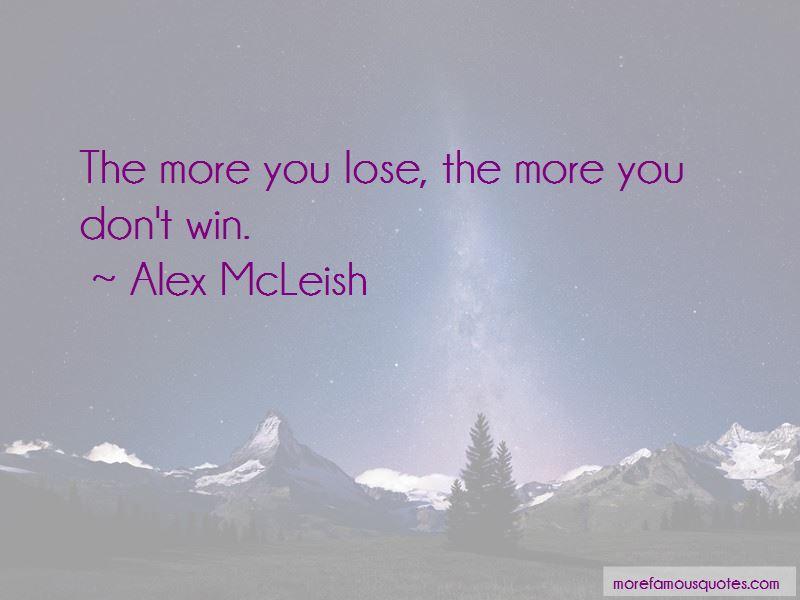 Alex McLeish Quotes