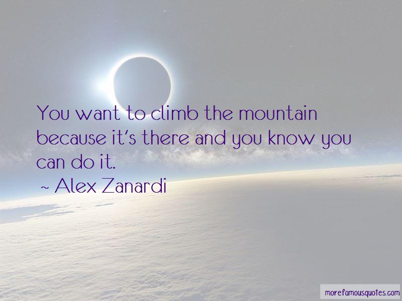 Alex Zanardi Quotes