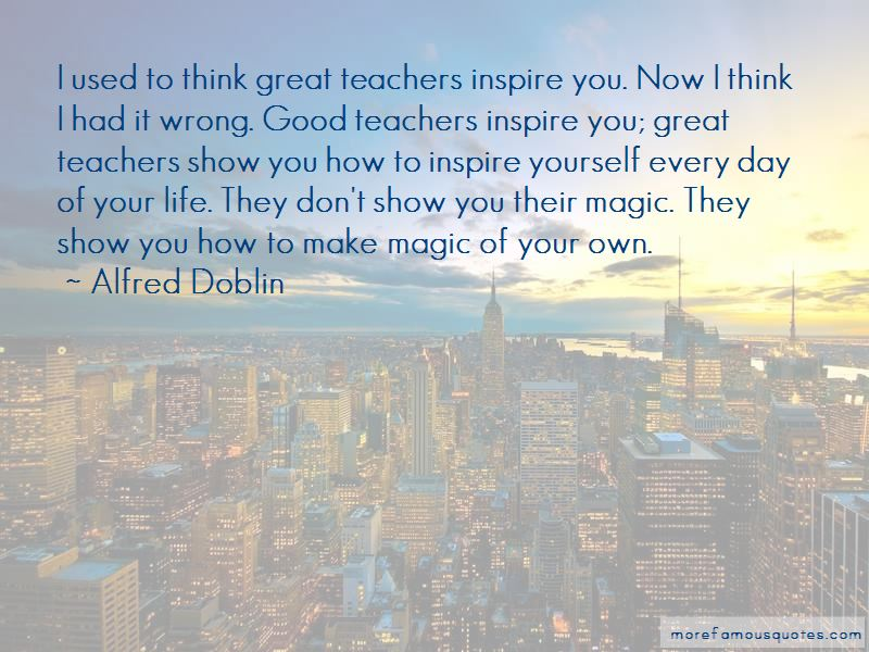 Alfred Doblin Quotes Pictures 3