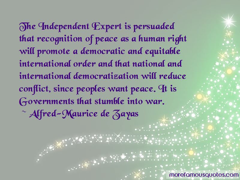 Alfred-Maurice De Zayas Quotes Pictures 2