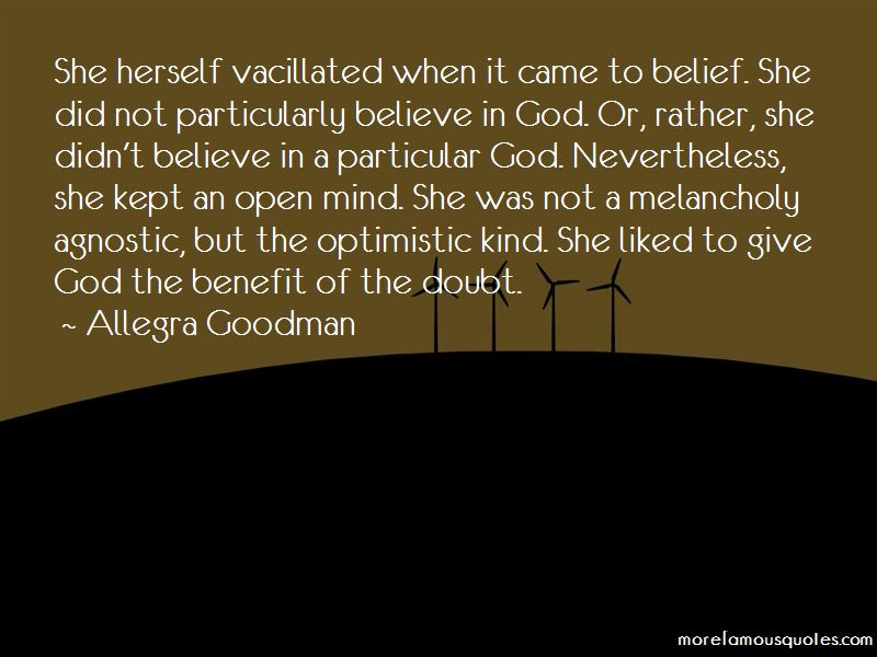Allegra Goodman Quotes Pictures 2