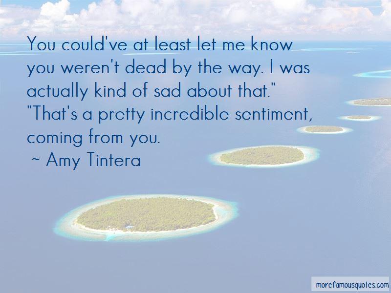 Amy Tintera Quotes