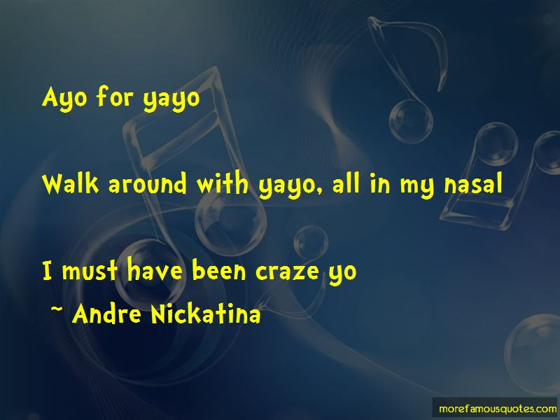 Andre Nickatina Quotes