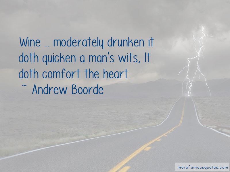 Andrew Boorde Quotes