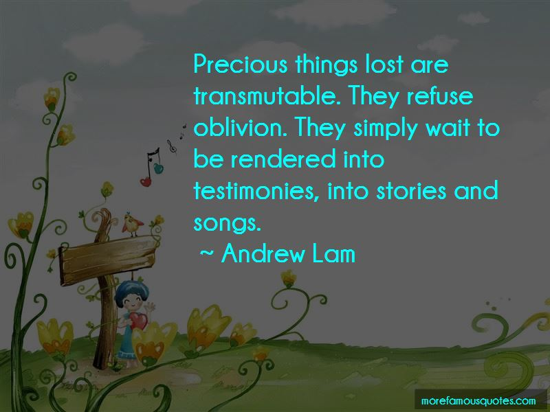 Andrew Lam Quotes Pictures 2