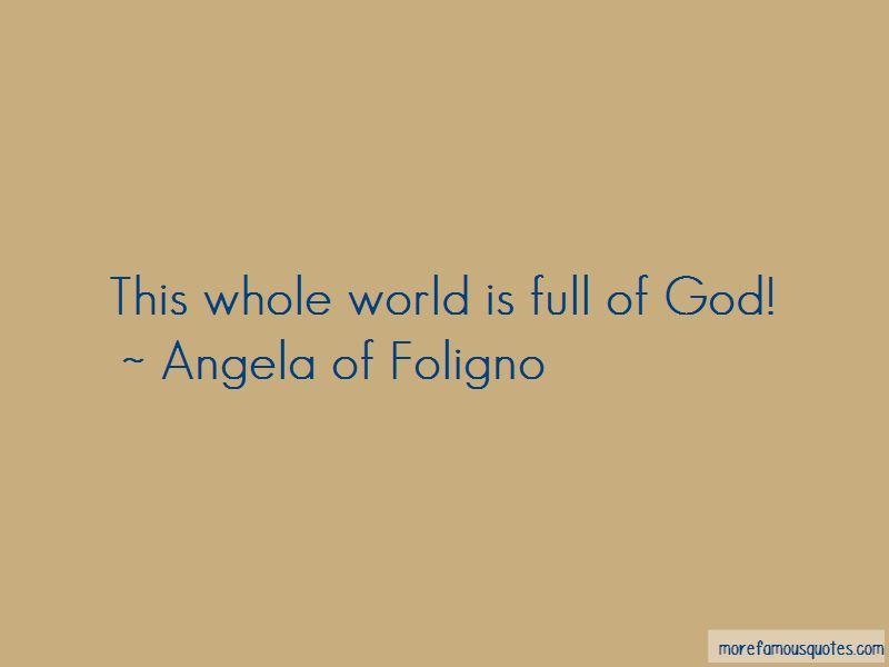 Angela Of Foligno Quotes