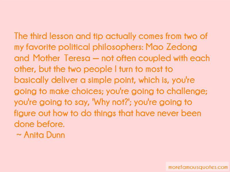 Anita Dunn Quotes