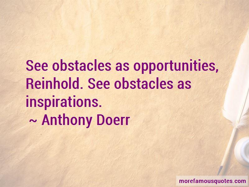 Anthony Doerr Quotes