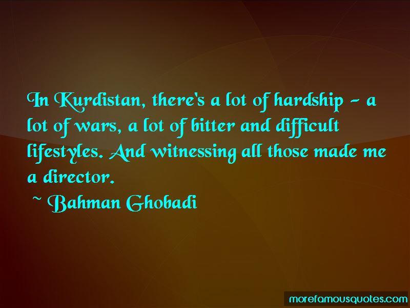 Bahman Ghobadi Quotes Pictures 2