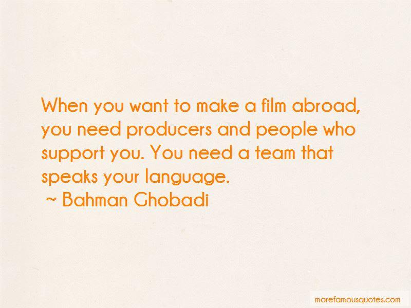 Bahman Ghobadi Quotes Pictures 3