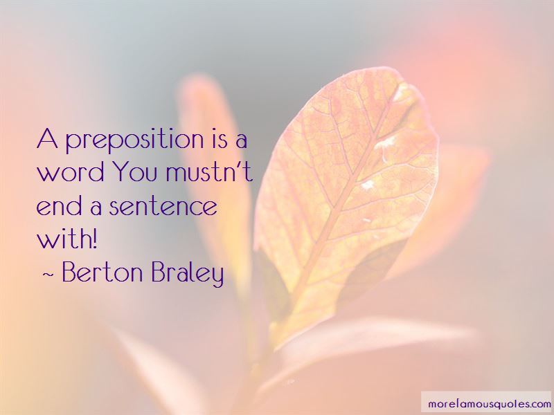 Berton Braley Quotes Pictures 2