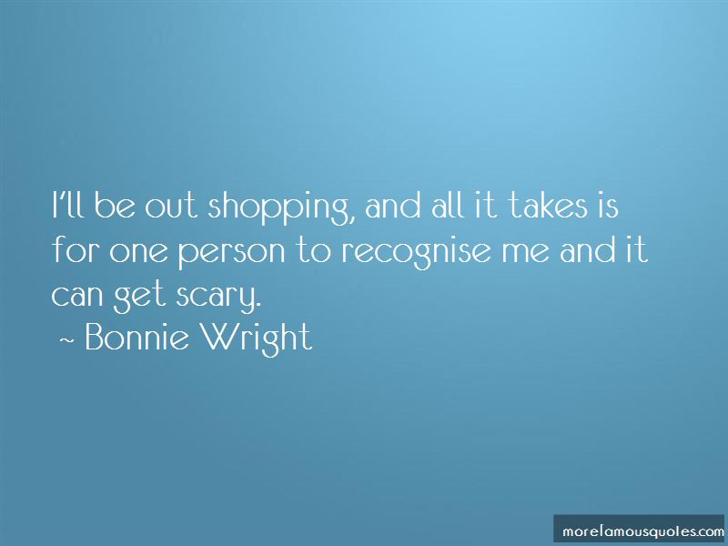 Bonnie Wright Quotes Pictures 2