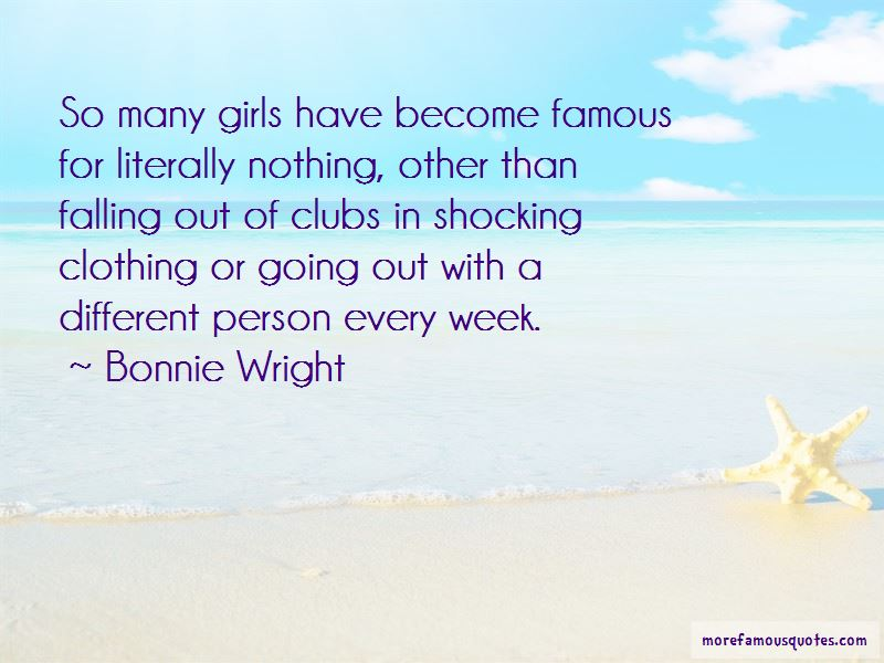 Bonnie Wright Quotes Pictures 3