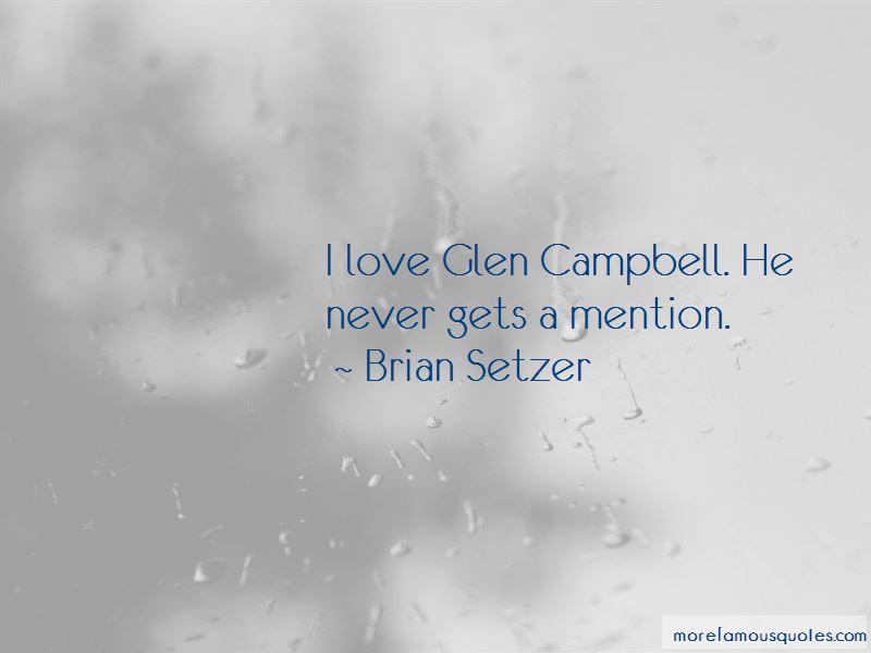 Brian Setzer Quotes Pictures 2