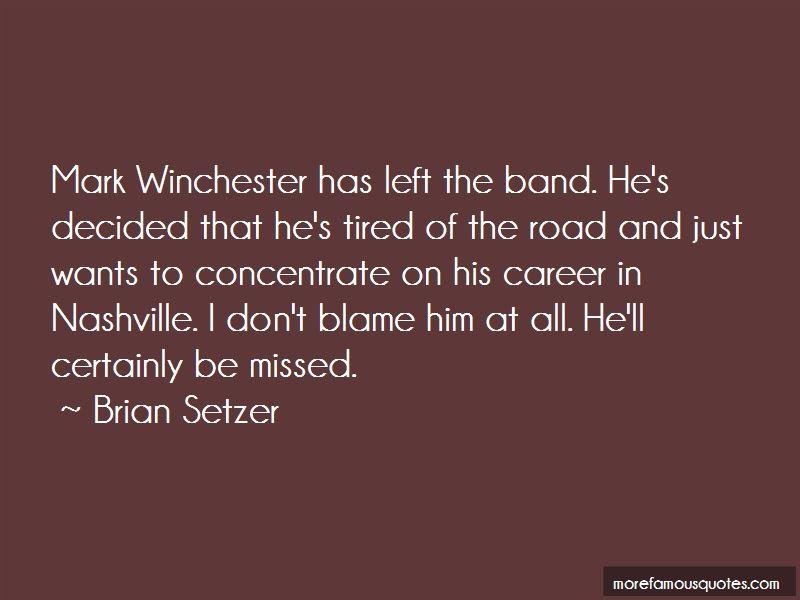 Brian Setzer Quotes