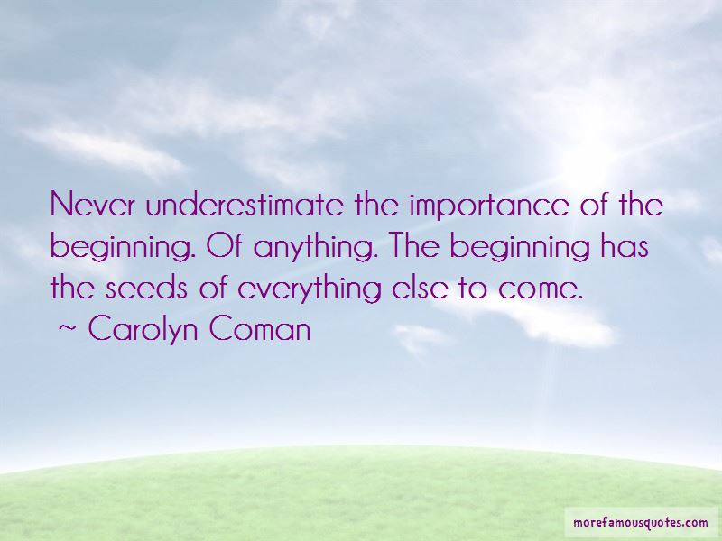 Carolyn Coman Quotes Pictures 2