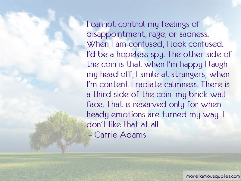 Carrie Adams Quotes