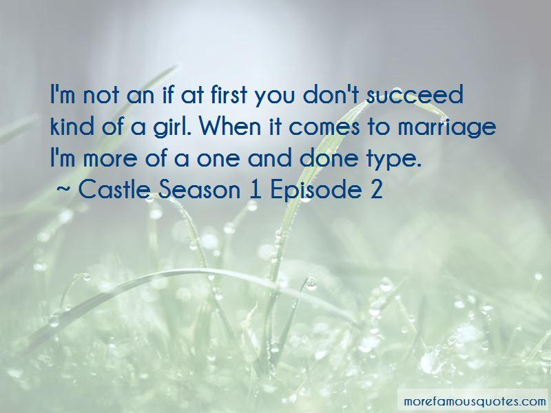 Castle Season 1 Episode 2 Quotes