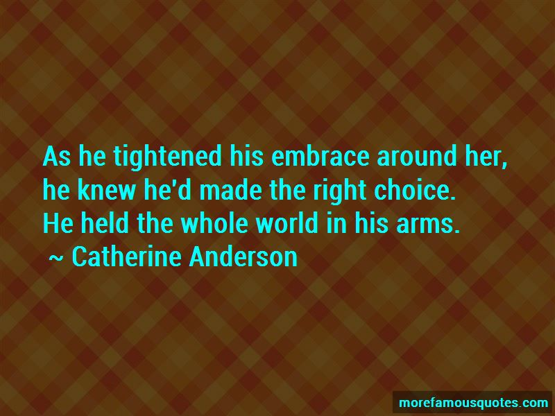 Catherine Anderson Quotes