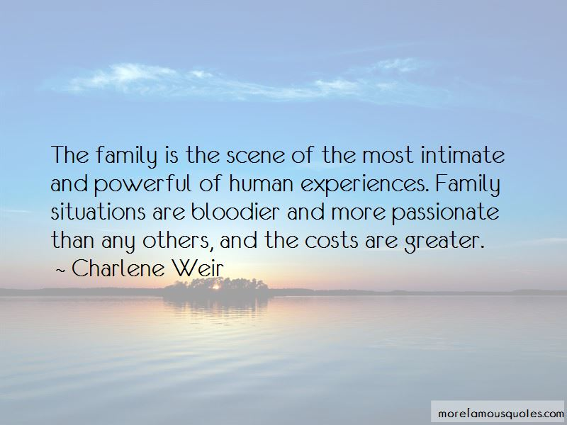 Charlene Weir Quotes