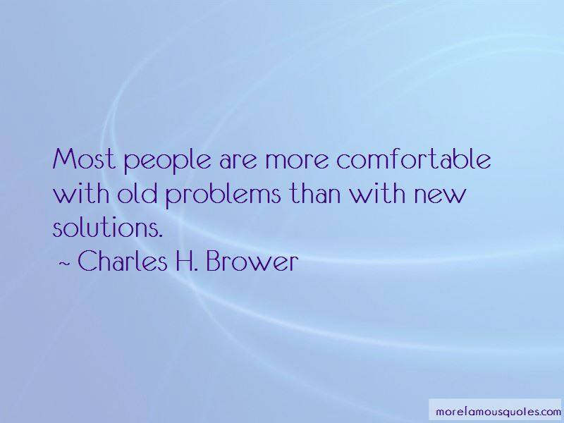 Charles H. Brower Quotes Pictures 2